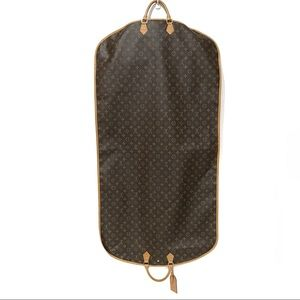 LOUIS VUITTON Garment Bag Weekender 3 Hangers Lock